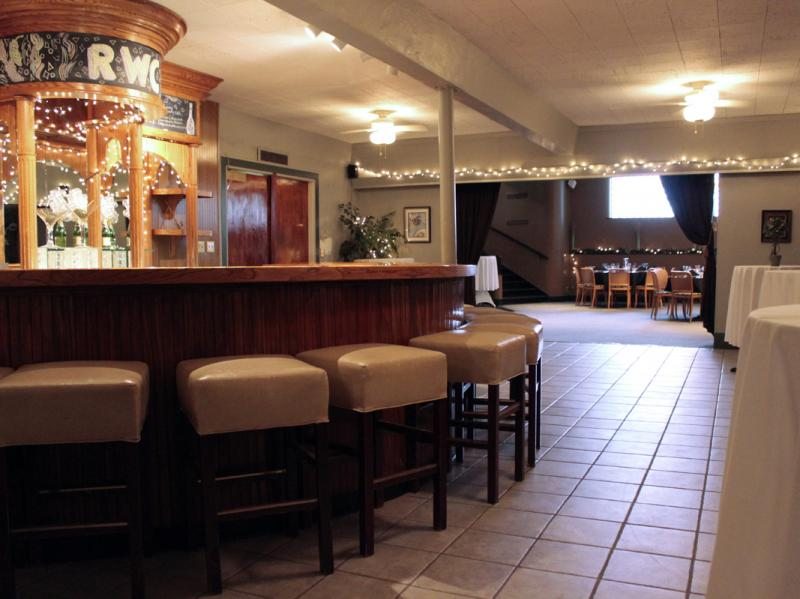 The Lower Level Bar adjoining the Main Dining Room