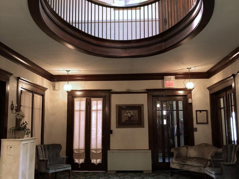 Rotunda Lobby Area Outside Office